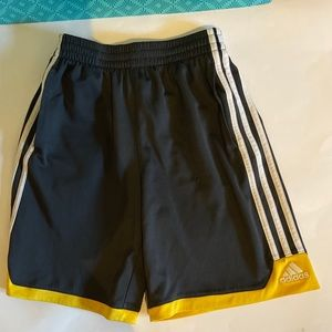 2 pair athletic shorts, youth M